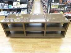 縦2段横3列型、天板表面は硬質メラミン光沢化粧板|WAKATSUKI