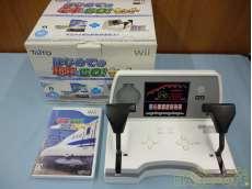 Wii はじめての電車でGO!セット 新幹線EX 山陽新幹線編|TAITO