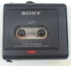 マイクロカセットレコーダー SONY