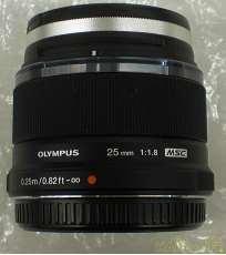 マイクロフォーサーズ用単焦点レンズ OLYMPUS