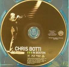 CHRIS BOTTI in BOSTON|コロムビアレコーズ