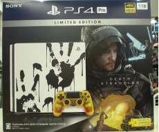 PS4 Pro Death Stranding edition|SONY