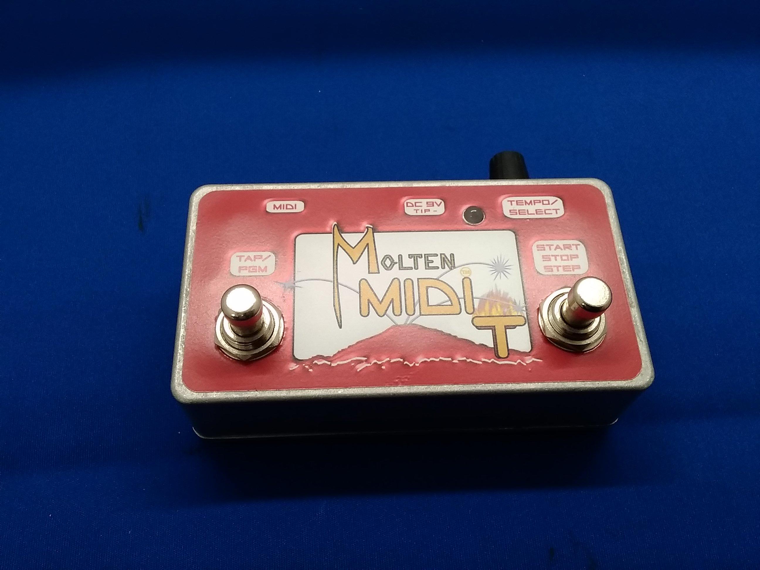 MIDIコントローラ|MOLTEN VOLTAGE
