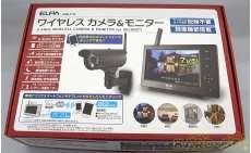 ワイヤレスカメラ&モニター