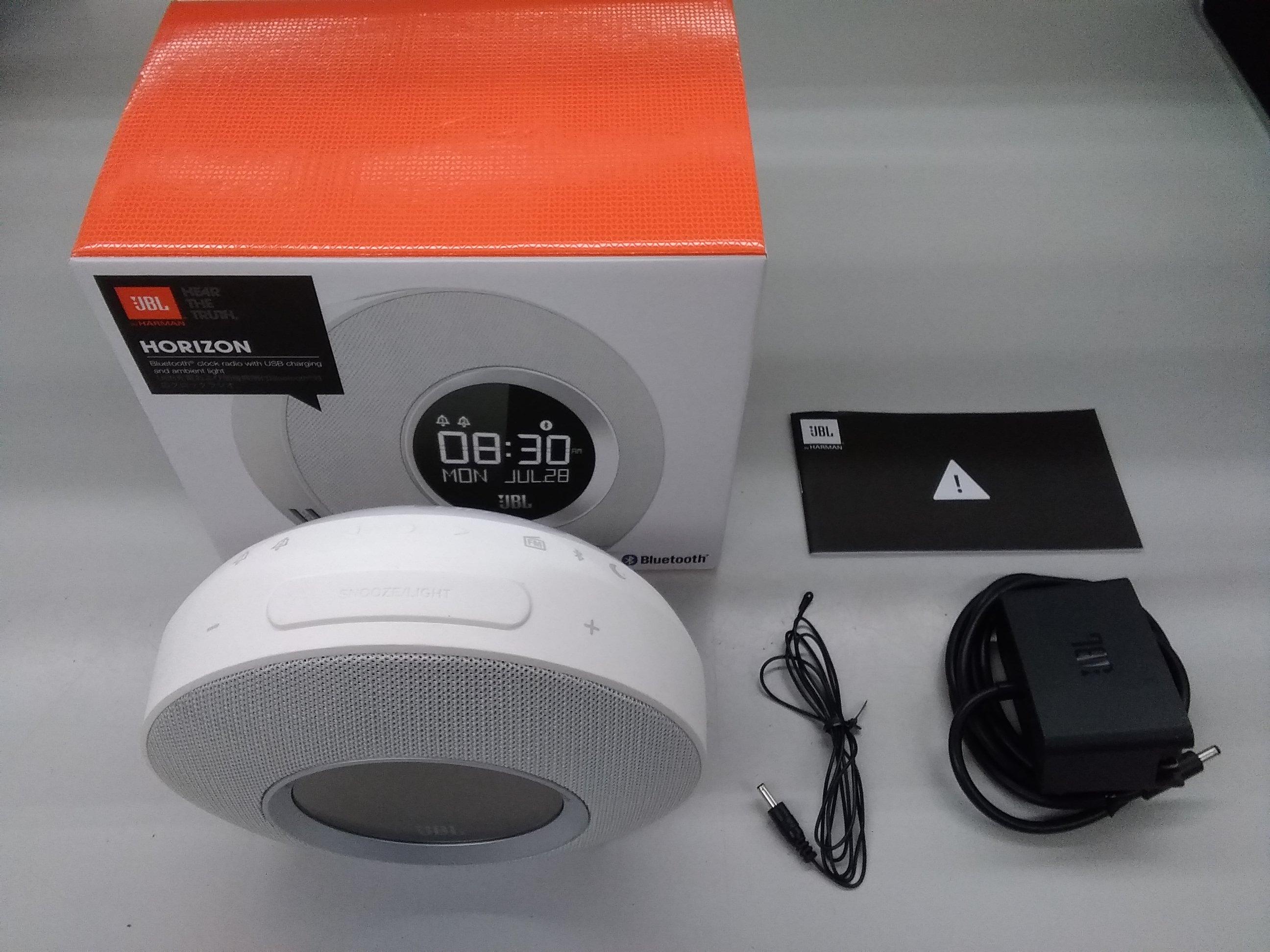 ブルートゥース対応クロックラジオ|JBL