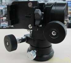 K型微動マウント カメラ雲台仕様|MIZAR-TEC