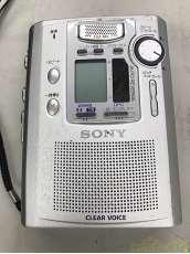 【ジャンク】ポータブルカセットレコーダー|SONY