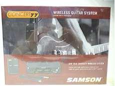ワイヤレスギターシステム|SAMSON
