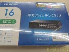 スイッチングハブ 未使用品|I・O DATA