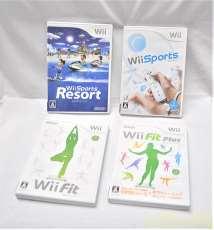 Wiiソフト 4本まとめ売り NINTENDO