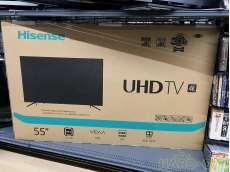 【未使用】55インチ4K液晶テレビ|HISENSE