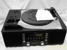 ターンテーブル/カセット付きCDレコーダー