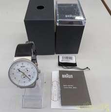 クォーツ・アナログ腕時計|BRAUN