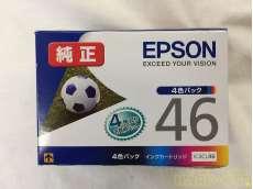 未使用 EPSON純正インク  IC4CL46 4色セット|EPSON
