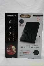 未使用品 ポータブルハードディスク|I・O DATA