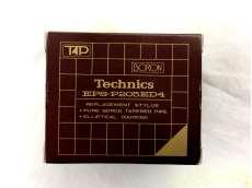 未使用 Techenics EPS-P205ED4 交換針 元箱/ケース/説明書付|TECHENICS