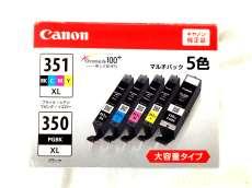 未使用 ジャンク扱 CANON  インクタンク BCI-351XL+350XL|CANON