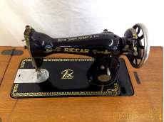 Riccar リッカー製 家庭用足踏みミシン|RICCA