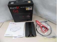Sound BlasterX G5