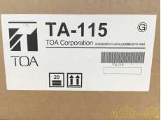 簡易型アンプ 15W TOA