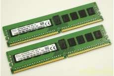 サーバ用DDR4 8GBメモリ2枚組16GB|その他ブランド