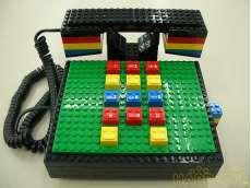 レゴブロック風 電話機|TYCO