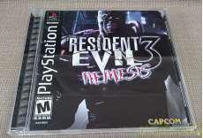 BESIDENT EVIL3 NEMESIS CAPCOM