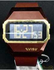 クォーツ・デジタル腕時計 EVISU