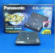 CD-ROMプレイヤー PANASONIC