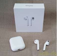 Air pods Apple Bluetooth対応/ マイク付き|APPLE