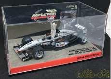 McLaren Mercedes MP4-17D  Makaysian GP2003|MINICHAMPS