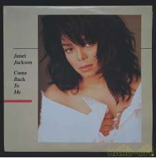 LP盤 洋楽 Janet Jackson Come Back To Me|A&M Records