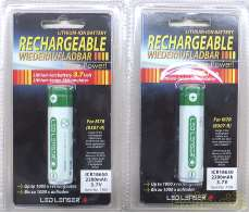 LEDLENSER P7R/M7R用専用充電池|LED LENSER