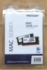 APPLE用SO-DIMM DDR3-1600/PC3-12800|PATRIOT