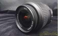 【AF-S DX NIKKOR 18-55mm f/3.5】|NIKON