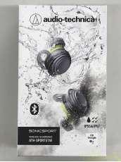 Bluetoothヘッドホン 防水/防塵 ワイヤレスイヤホン AUDIO-TECHNICA オーディオテクニカ