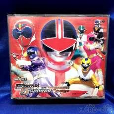 スーパー戦隊オムニバスCD Eternal5 colored Songs|日本コロムビア