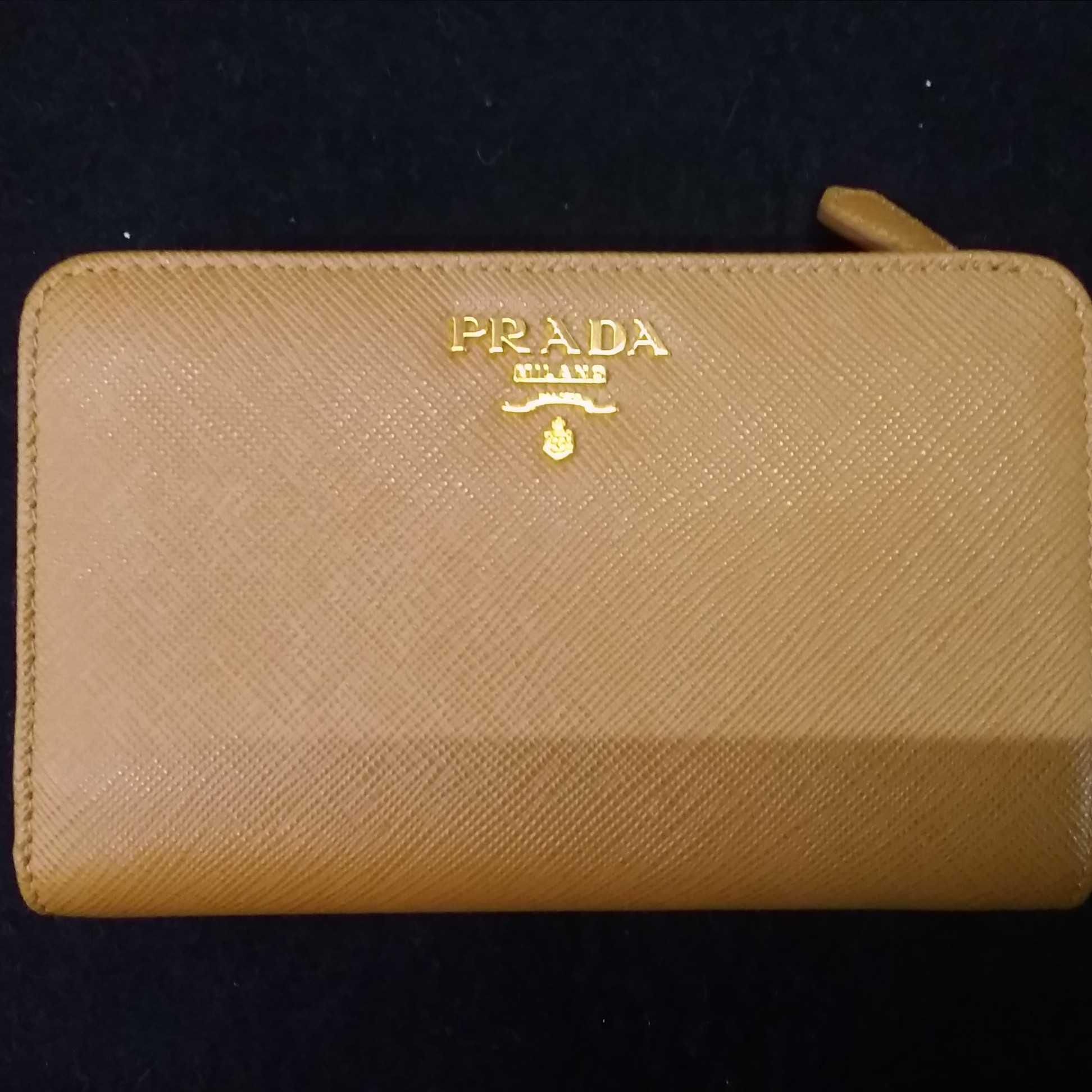 SAFFIANO 2つ折り財布|PRADA