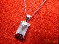 PT900/PT850 ネックレス 3.3G|宝石付きネックレス