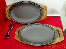 ステーキ皿 ペア|南部鉄器