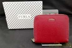 ラウンドファスナー折りたたみ財布|FURLA