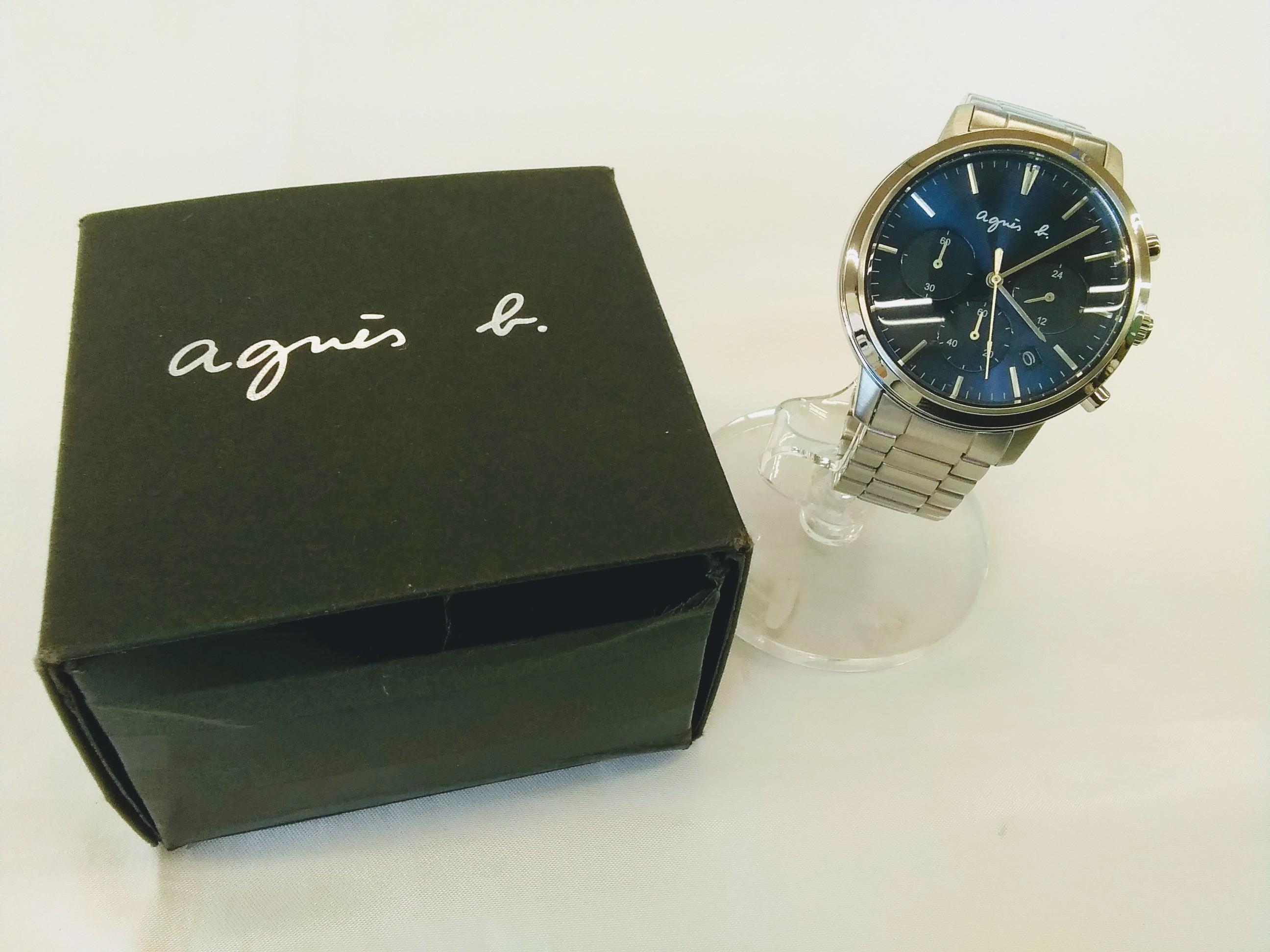 クオーツ腕時計|AGNIS-B【アニエスベー】【箱つき】
