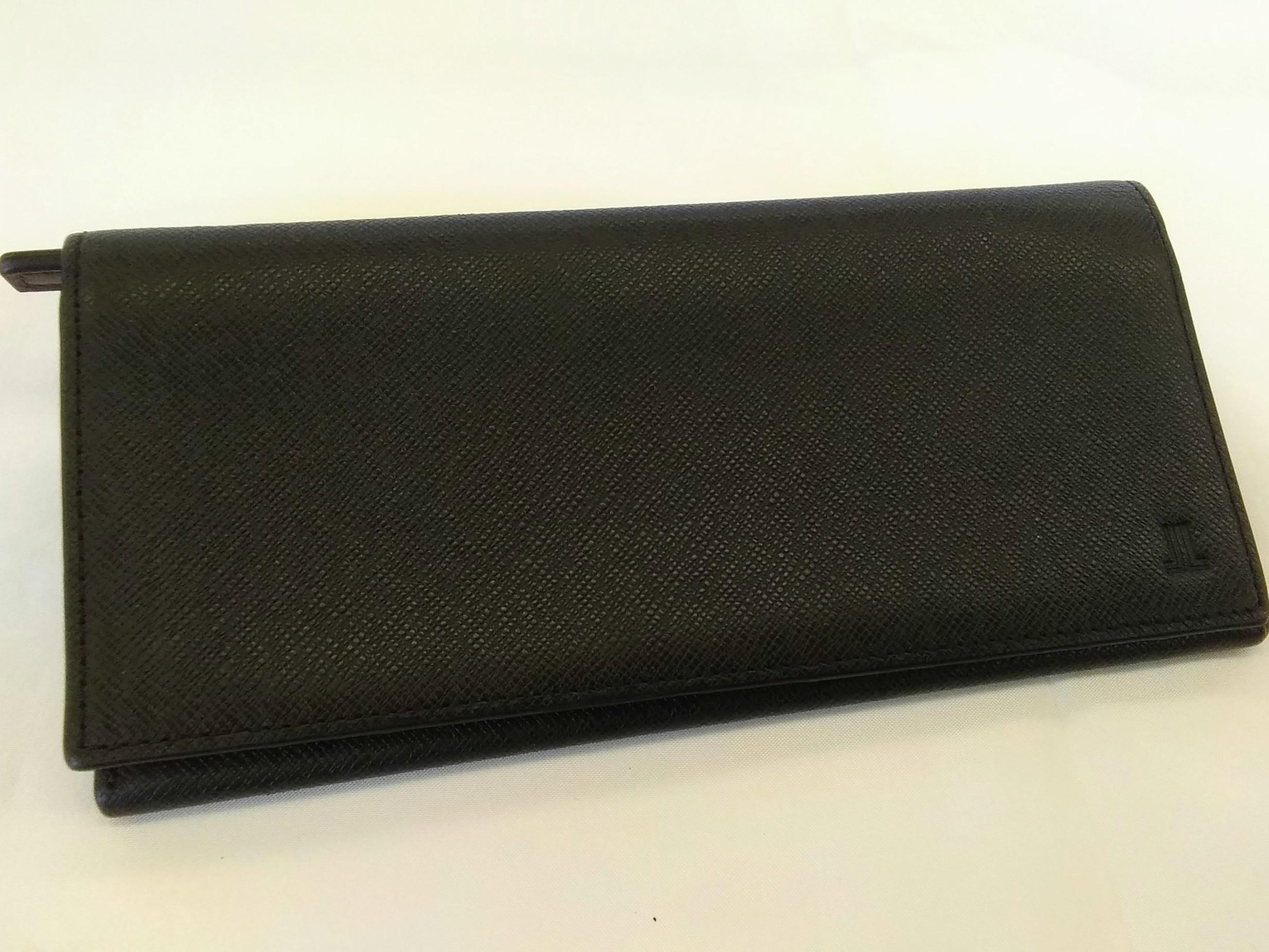 長財布【ブラック】【メンズ】|LANVIN【ランバン】【箱なし】