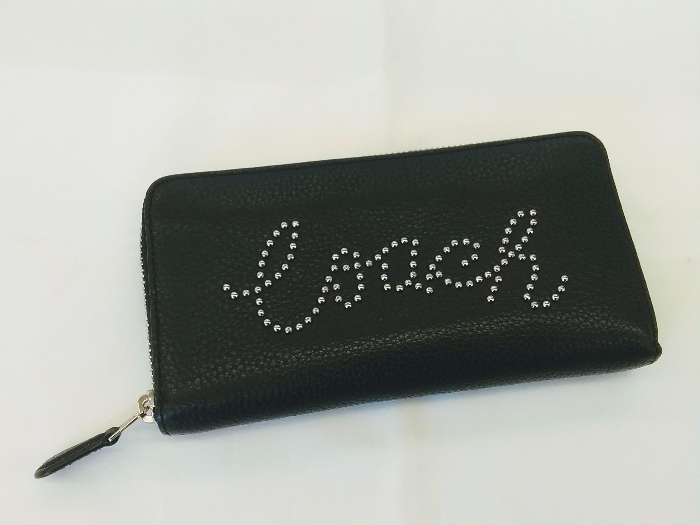 ラウンドジップ財布【ブラック】|COACH【コーチ】【美品】【箱なし】