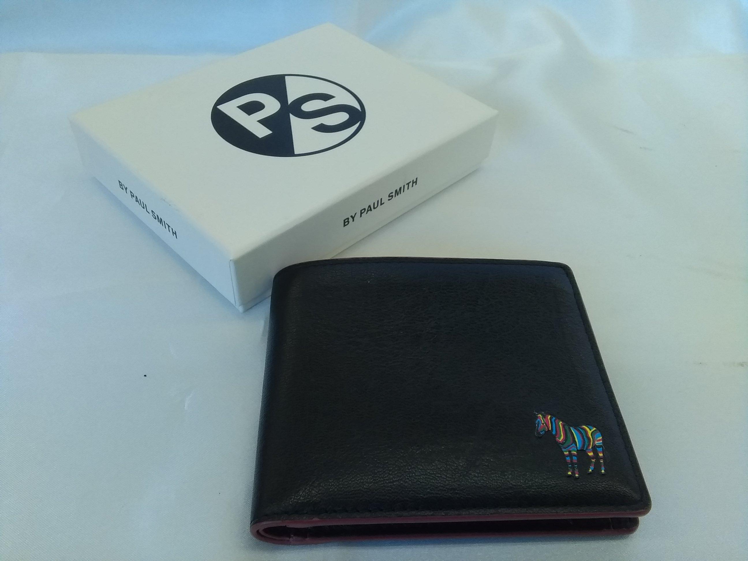 【シマウマ】二つ折り財布【箱付】|PAUL SMITH ポールスミス