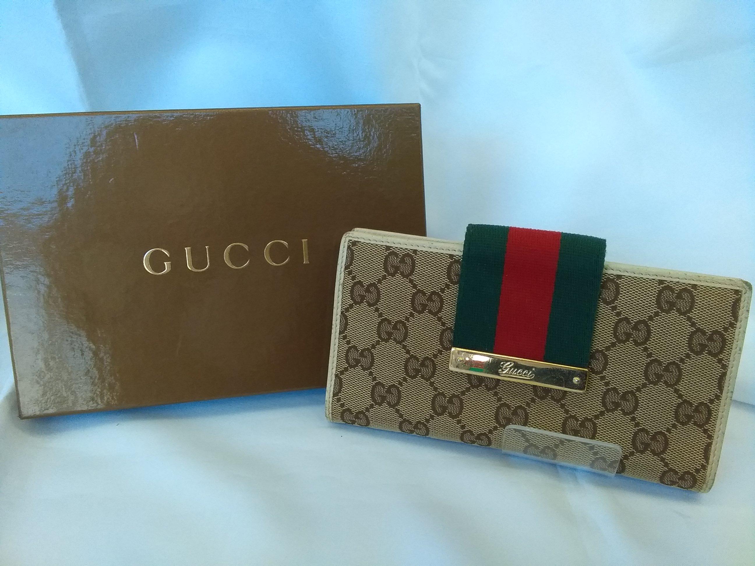 グッチ 二つ折り長財布|GUCCI