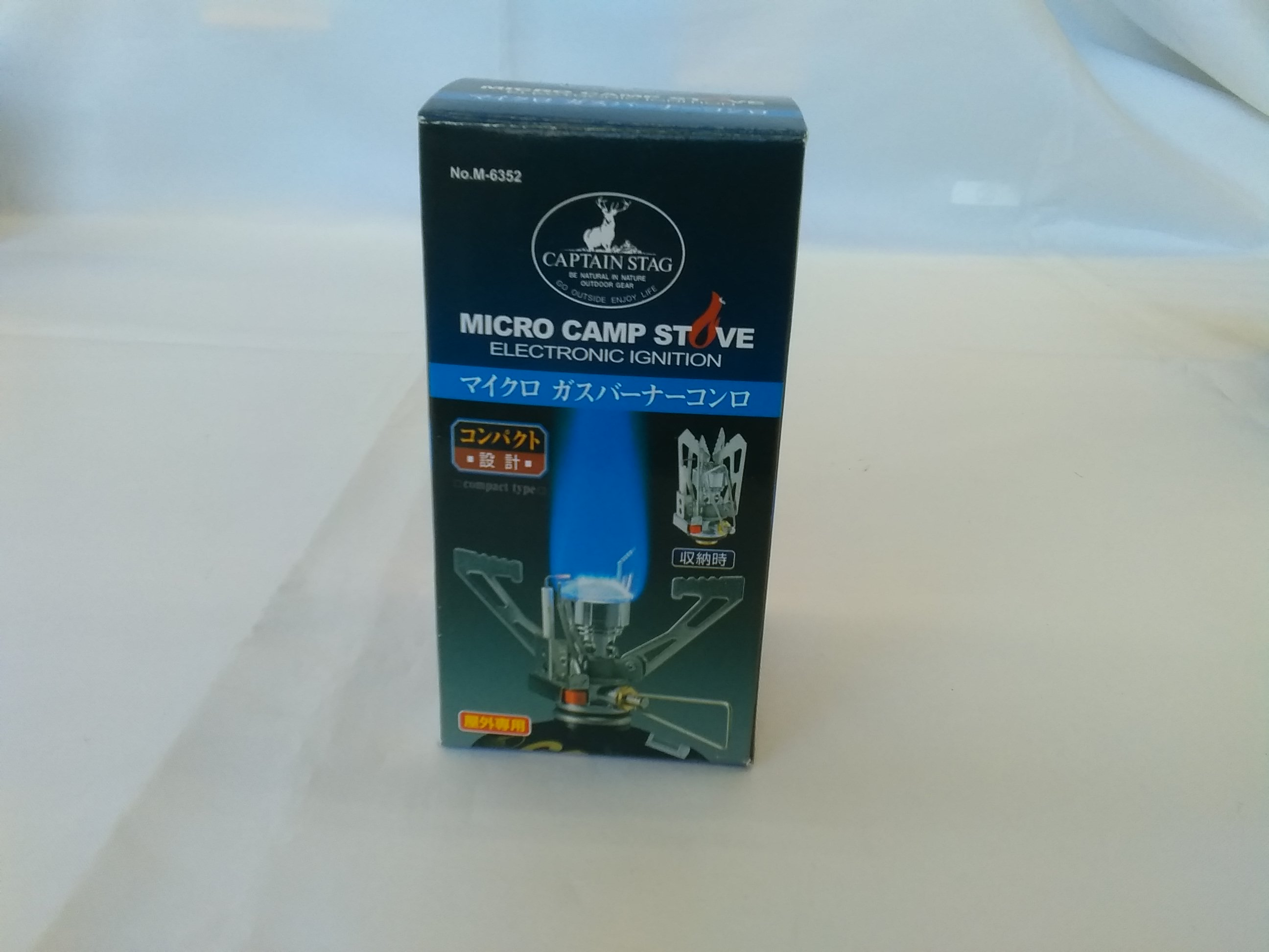 CAPTAIN STAGマイクロガスバーナーコンロ|CAPTAIN STAG ガスバーナーコンロ