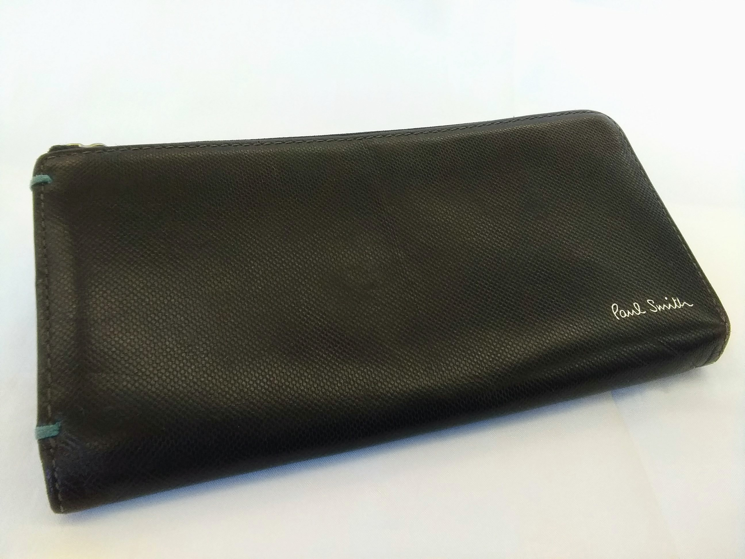 ラウンドジップ財布【ブラック】|PAUL SMITH【ポールスミス】【箱なし】