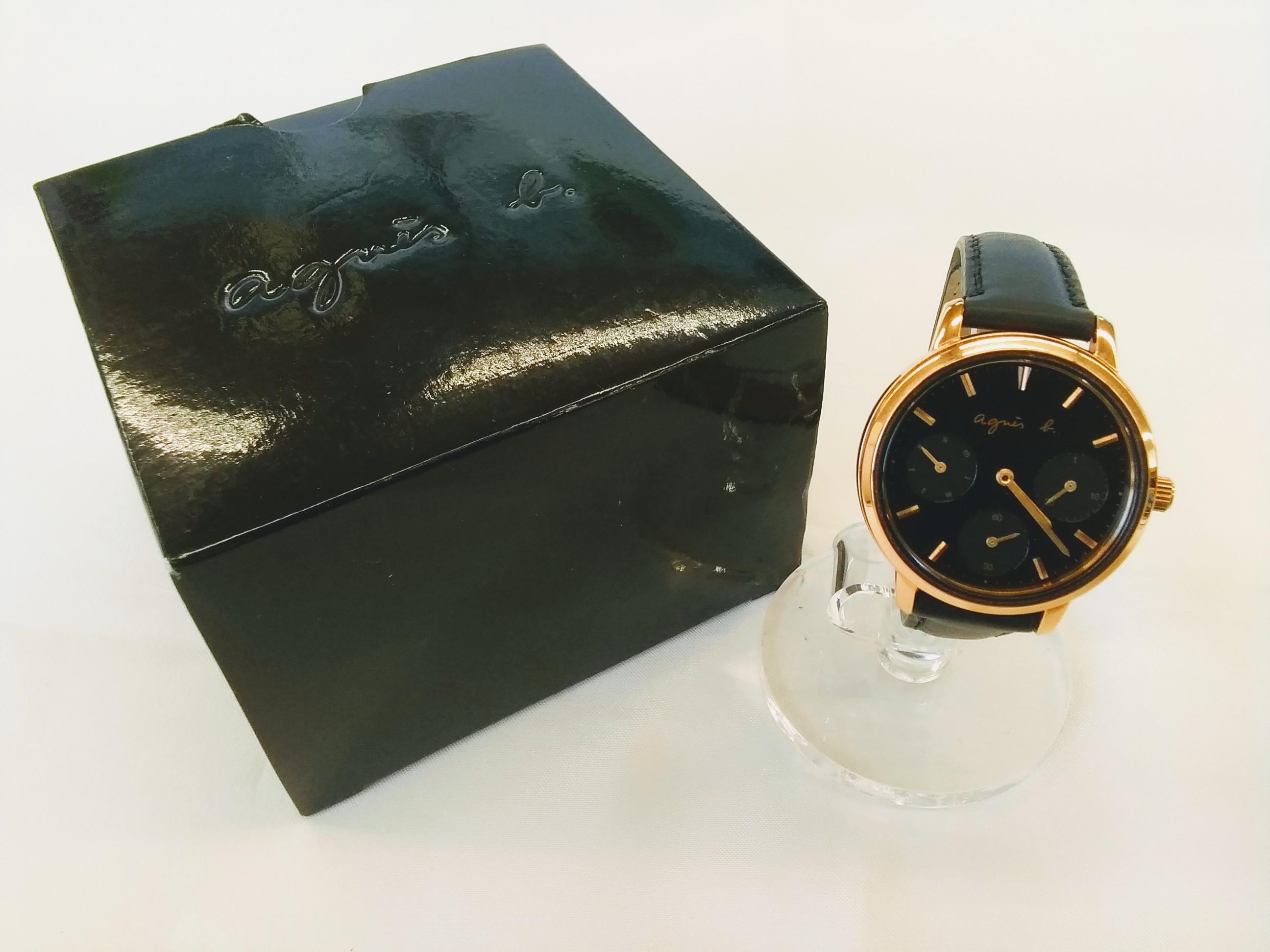 腕時計|AGNES B【アニエスベー】【箱つき】