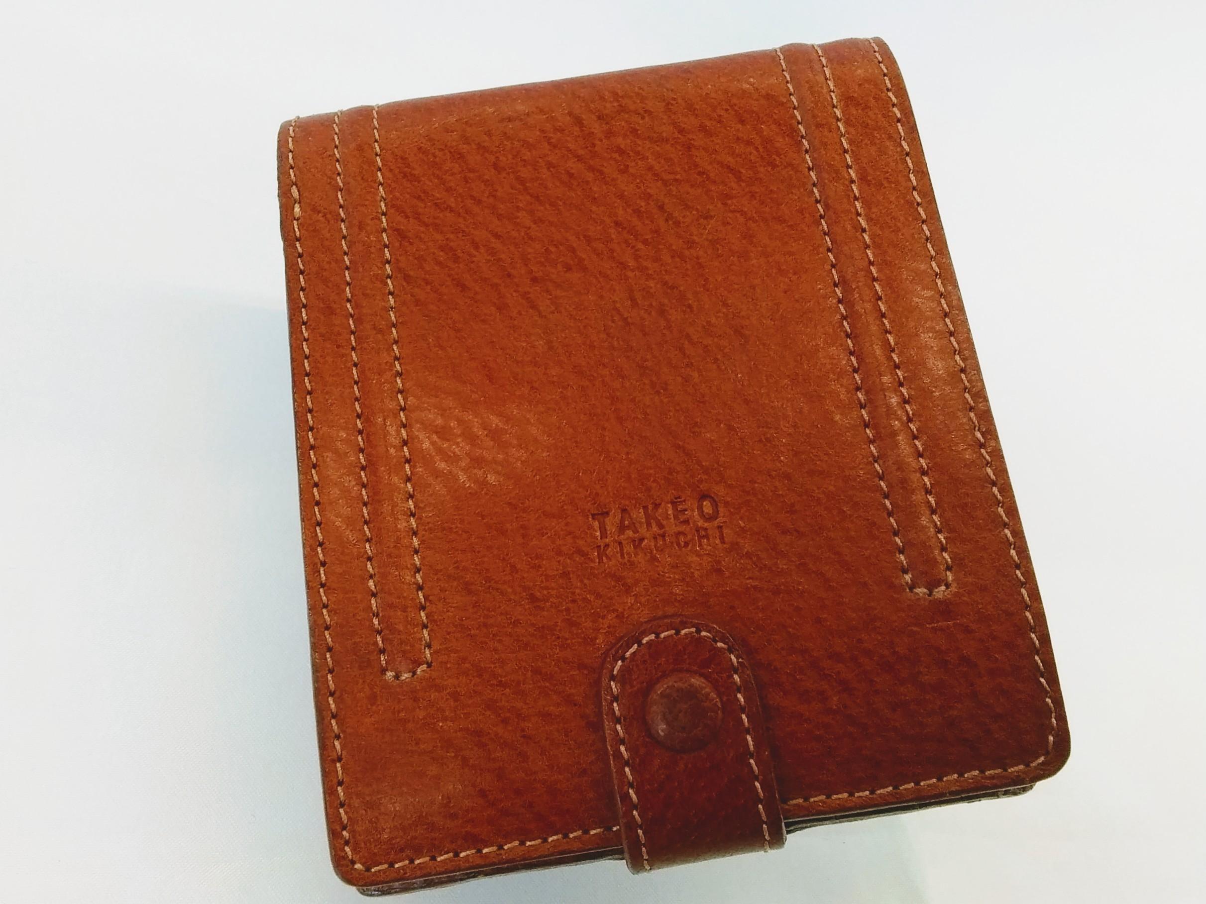 折りたたみ財布【ブラウン】|TAKEO KIKUCHI【タケオキクチ】